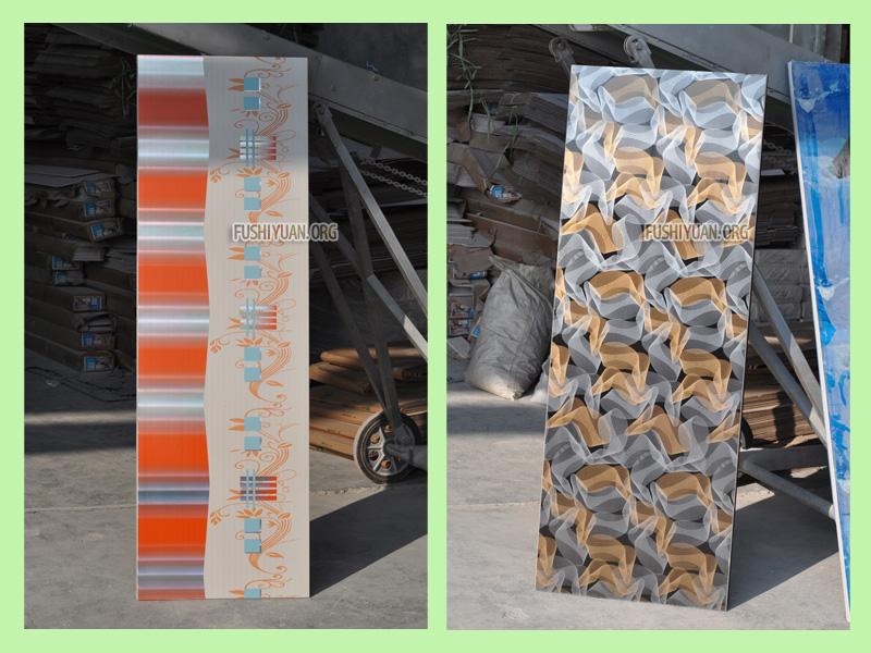 Hot Stamping PVC Doors