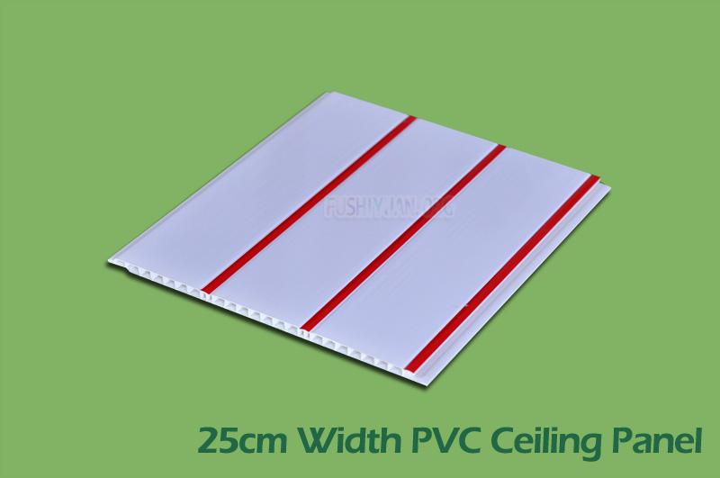 25cm width PVC Ceiling Panels