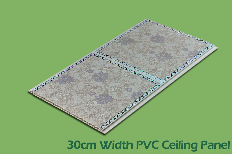 30cm Transfer Printing PVC Wall Panels