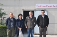 French Visit haining factory