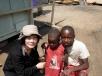 with African Children