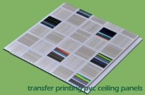 Transfer Printing PVC Wall Panels